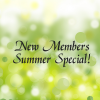 NEW Member Dues (Summer Special)