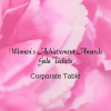 2019 Women's Achievement Awards Corporate Table