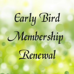 Early Bird Renewal (Oct 1-Dec 31)