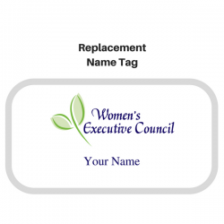 Member Replacement Name Tag