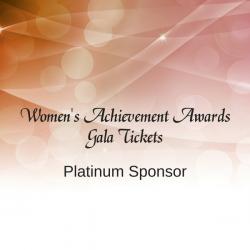 Women's Achievement Awards Platinum Ticket Package
